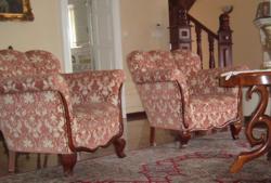 Antik ülőgarnitúra 4 fotel+1 kanapé