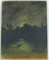 0W247 Katona Ernő : Csónakázás a holdfényben