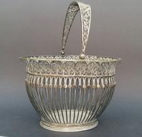 Libay János, Selmecbánya -i filigrán ezüst kosár.
