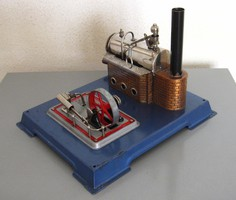 WILESCO D12 gőzgép - játék, működő makett