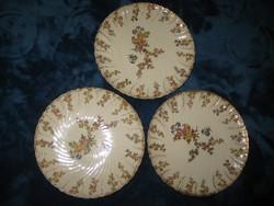 Sarreguemines  süteményes  tányér  3 db  ,185  mm , szép állapot  !