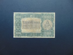10000 korona 1923 Ritkább bankjegy