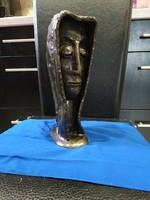 Fejet ábrázoló Murai Jenő  szobor