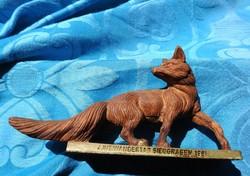 Róka szobor - emlékszobor 4. INT WANDERTAG SIEGGRABEN 1981