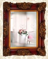 Dekoratív, díszes keretes tükör