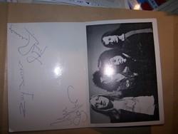 Mungo Jerry - aláírt üdvözlőlap