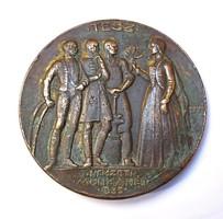 Berán 1933.'TESZ-Nemzeti Munkahét' emlékérem