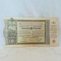 Magyar Szent Korona Országainak Vörös-Kereszt Egylete kisorsolási kötvény