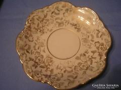 Aranyozott antik ékszer.v gyűrűtartó