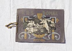 40 római művészeti alkotás, 1900 körüli kiadvány