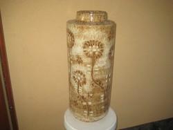 Zsolnay  - Fürtös György tervezte padló váza