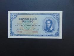 1 millió pengő 1945 N 441 Hajtatlan bankjegy !!!