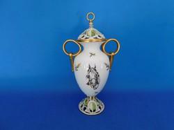 Herendi EGYEDI LOVAS  Urna váza