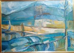 Balaton v.o.50x70