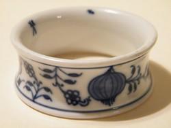 Meisseni kék hagymamintás szalvétagyűrű