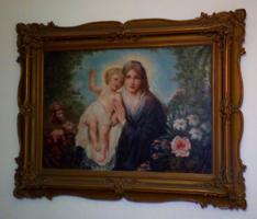 Bihari Emma festmény
