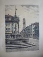 Göttingen, tusrajz.