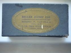 RIGLER JÓZSEF EDE PAPIRNEMŰGYÁR R.T.