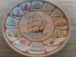 Angol  Wedgwodi porcelán dísz tányér