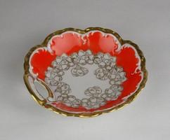 0W425 Oscar Schlegelmilch porcelán mogyorós tálka