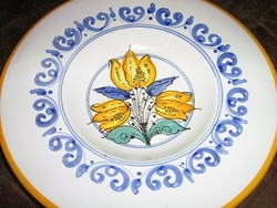 Csodaszép vintage fali tányér szignózott Bubla Éva