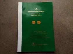 43. Numizmatikai Aukció 2016. november 19. Pannonia Terra Numizmatika/id 5510/