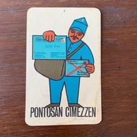 Retro kártyanaptár 1967