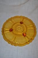 Lábakon álló torta tányér  ( DBZ 00114 )