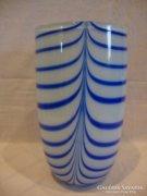 Christine Hutte Német gyűjteményes üveg váza
