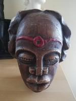 Terrakotta fej