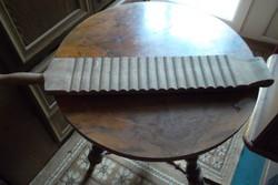 Antik,mángorló, mosófa 74 cm