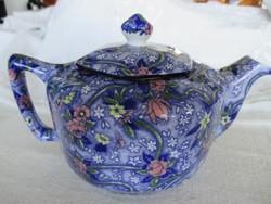 Alomszép Ringtons teáskanna, angol porcelán (Chintz design)