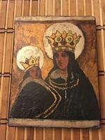 Gyönyörű orosz antik ikon