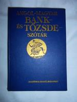 Angol-Magyar Bank és tőzsde szótár