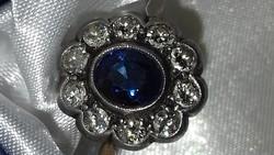 Gyémántos margarétagyűrű
