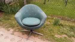 Jól forgó kényelmes retro fotel