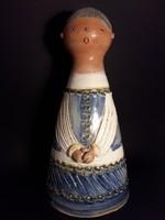 Kiss rose ilona large size ceramic sculpture figurine