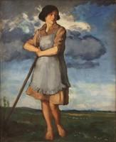 Rezes Molnár Lajos (1896-1989) R. Molnár: Borúra derű