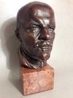 Olcsai Kiss Zoltán Lenin mellszobor büszt