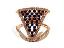 Ezüst köves gyűrű(Kecs-Ag78000)