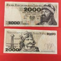 Lengyelország 2000 zlotyi 1979 NSZ