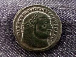 Diocletianus ezüstözött Follis Nicomedia 284-305 GENIO POPVLI ROMANI/id 8465/