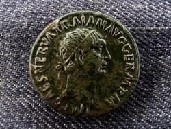 Traianus Dupondius 99 TR POT COS II P P S C/id 8466/