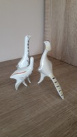 Drasche porcelán art deco madarak