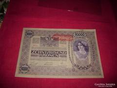 Osztrák 10000- korona