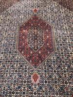 Hatalmas Kézicsomózású  Bijar Perzsaszőnyeg 370x250