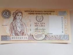 Ciprus 1 pound  2004 UNC