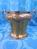 Antik szecessziós pezsgős - vödör