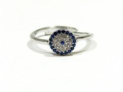 Ezüst köves gyűrű(Kecs-Ag77993)