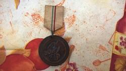 Különleges MNDSZ bőr kitüntetés vagy érem 1945-ből